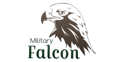 Military Falcon Logaster Logo