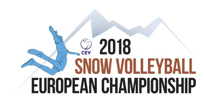 Snow Volleyball Logo