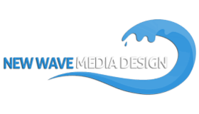 Wave Media Design Logo