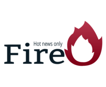 Fire Newspaper Logaster Logo