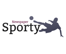 Sporty Newspaper Logaster Logo