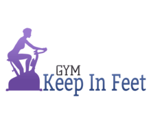 Keep In Feet Gym Logaster logo
