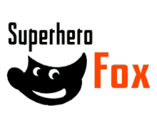 Super Hero Fox Logaster logo