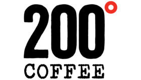 200 Degrees Coffee Logo