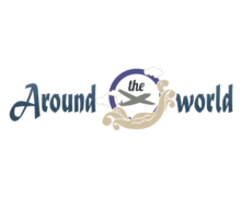 Around The World Logaster Logo