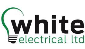 White Electrical Ltd Black Logo