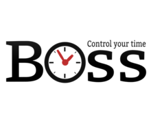 Boss Time Logaster Logo