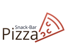 Pizza Snack Bar Logaster Logo