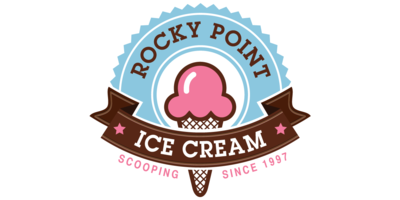 Rocky Point Ice Cream Logo