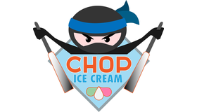 Chop Ice Cream Logo