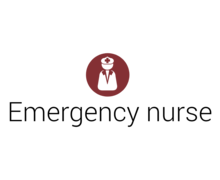 Emergency Nurse Logaster Logo