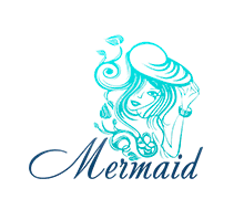 Mermaid Logaster Logo