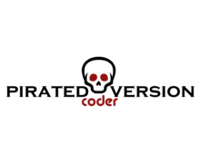 Pirated Version Logaster Logo