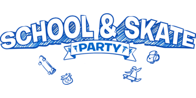 School Skate Party Logo