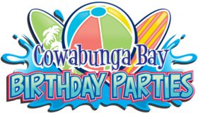 Cowabunga Bay Birthday Parties Logo