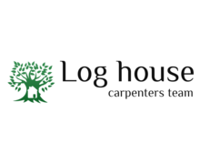 Log House Logaster Logo