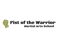 Fist Of The Warrior Logaster Logo