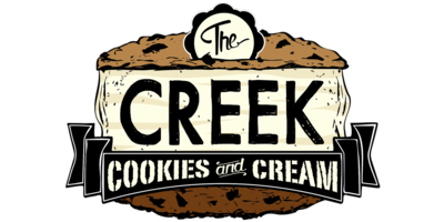 Creek Cookies Cream Logo