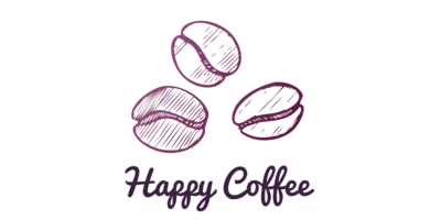 Happy Coffee Logaster Logo