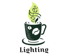 Coffee Lighting Logaster logo
